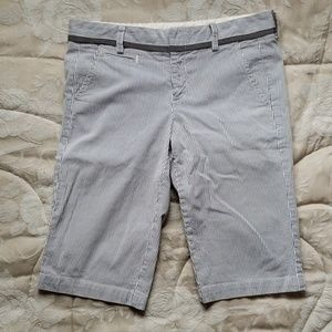 Vince Shorts - Vince striped Bermuda shorts size 4